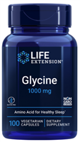 Glycine (1000 mg, 100 vegetarian capsules)