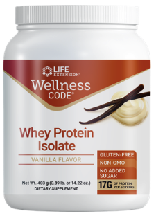 Wellness Code® Whey Protein Isolate (Vanilla) (403 grams)