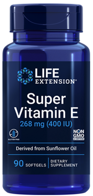 Super Vitamin E (268 mg (400 IU), 90 softgels)
