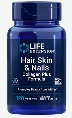 Hair, Skin & Nails Collagen Plus Formula (120 tablets)