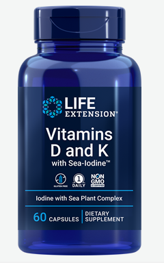 "Vitamins D and K with Sea-Iodineâ""¢ (60 capsules)"