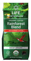 Rainforest Blend Decaf Ground Coffee (12 oz)