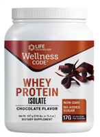 Wellness Code® Whey Protein Isolate (Chocolate) (437 grams)