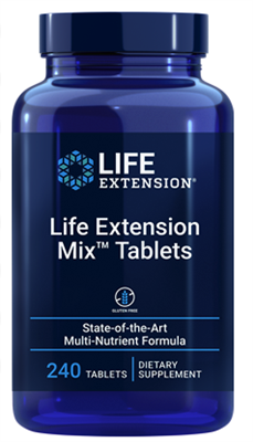 "Life Extension Mixâ""¢ Capsules (240 tablets)"