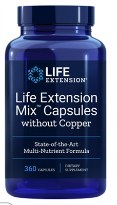 "Life Extension Mixâ""¢ Capsules without Copper (360 capsules)"
