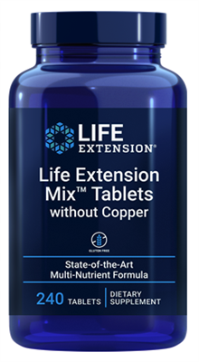 "Life Extension Mixâ""¢ Capsules without Copper (240 Tablets)"