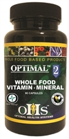 Optimal 2 - Whole Food Vitamin/Mineral