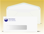 # 10 Window Envelopes, 1 PMS color print, # 11040PMS-SS