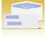 "Check Envelopes 8-5/8"" Double Window Envelope - Self Seal Gum, # 12015-SS"