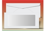 #10 Envelope Full View (Booklet), # 31032 - 500 Qty.