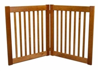 "Amish Handcrafted 27"" Highlander: 2 Panel Gate: Free Shipping"