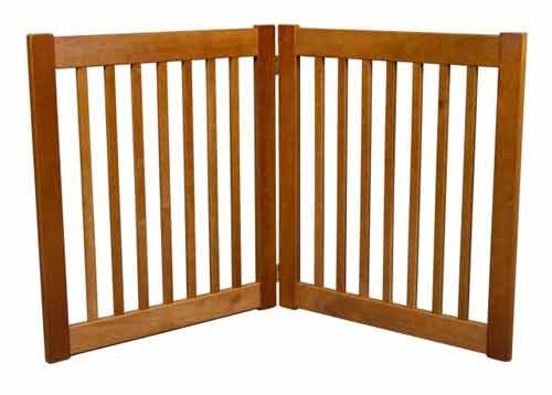 "Amish Handcrafted 32"" Highlander: 2 Panel Gate: Free Shipping"