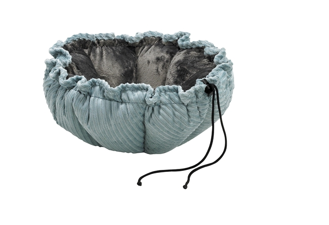 Bowsers Buttercup Blue Bayou Dog Bed Microvelvet: Free Shipping