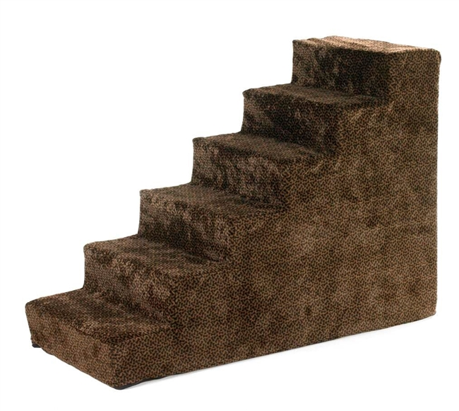 Bowsers Chocolate Bones Microvelvet Pet Steps - Free Shipping