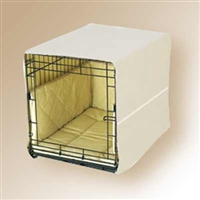Pet Dreams Khaki Dog Crate Cover