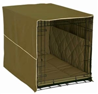Dog Crate Classic Cover: Olive