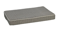 Bowsers Isotonic Memory Foam Mattress Bed  Herringbone: Free Shipping