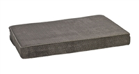 Bowsers Isotonic Memory Foam Mattress Bed Pewter Bones: Free Shipping