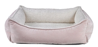 Bowsers Oslo Ortho Dog Bed Blush: Free Shipping