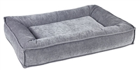 Bowsers Divine Futon Dog Bed Pumice: Free Shipping
