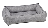 Bowsers Urban Lounger Dog Bed Allumina Microvelvet: Free Shipping