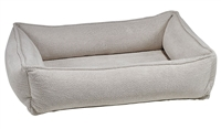 Bowsers Urban Lounger Dog Bed Aspen Microvelvet: Free Shipping