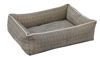 Bowsers Urban Lounger Dog Bed Herringbone Microvelvet: Free Shipping