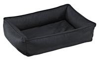 Bowsers Urban Lounger Dog Bed Rodeo Microvelvet: Free Shipping
