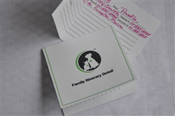 Pet Information Form/Family Itinerary Large 10/pk
