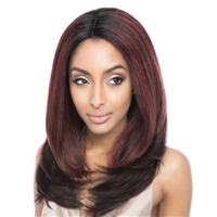 Glamourtress, wigs, weaves, braids, half wigs, full cap, hair, lace front, hair extension, nicki minaj style, Brazilian hair, crochet, hairdo, wig tape, remy hair, Lace Front Wigs, Remy Hair, Human Hair, ISIS Collection Brown Sugar Swiss Lace Wig BS223