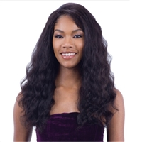 Glamourtress, wigs, weaves, braids, half wigs, full cap, hair, lace front, hair extension, nicki minaj style, Brazilian hair, crochet, hairdo, wig tape, Model Model Nude Brazilian Natural 100% Human Hair Premium Lace Front Wig - LOOSE DEEP ORIGIN 501