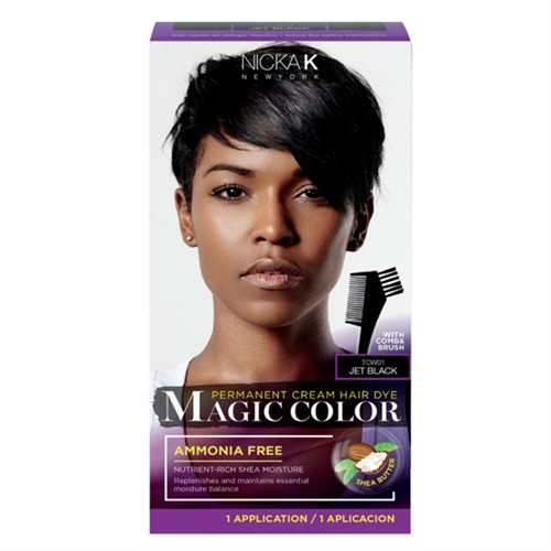 Nicka K New York PERMANENT CREAM HAIR DYE MAGIC COLOR FOR WOMEN