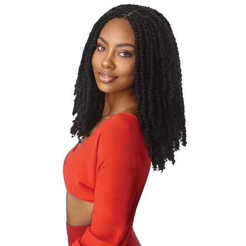 Outre X Pression Twisted Up Crochet Braid Springy Afro Twist 16