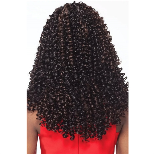 Outre X Pression 4 In 1 Pre Loop Crochet Braid Bohemian Curl 14 Inch