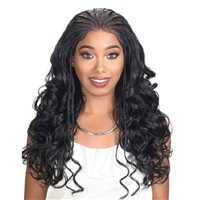 Glamourtress, wigs, weaves, braids, half wigs, full cap, hair, lace front, hair extension, nicki minaj style, Brazilian hair, crochet, hairdo, wig tape, remy hair, Lace Front Wigs, Remy Hair, Zury Sis Diva Lace Front Wig DIVA - LACE H FULANI 101