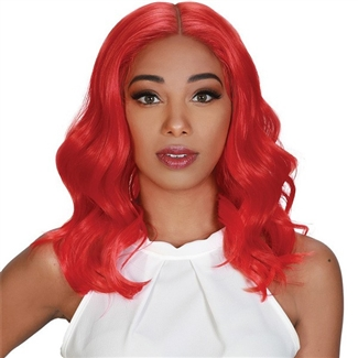 Glamourtress, wigs, weaves, braids, half wigs, full cap, hair, lace front, hair extension, nicki minaj style, Brazilian hair, crochet, hairdo, wig tape, remy hair, Lace Front Wigs, Zury Sis Synthetic Royal Pre Tweezed Swiss Lace Front Wig - SW LACE H TOBI