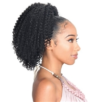 Glamourtress, wigs, weaves, braids, half wigs, full cap, hair, lace front, hair extension, nicki minaj style, Brazilian hair, crochet, hairdo,ZURY SIS Synthetic Drawstring Ponytail MISS V BOHEMIAN