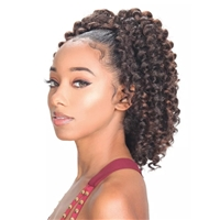 Glamourtress, wigs, weaves, braids, half wigs, full cap, hair, lace front, hair extension, nicki minaj style, Brazilian hair, crochet, hairdo,ZURY SIS Synthetic Drawstring Ponytail MISS V WANDA CURL