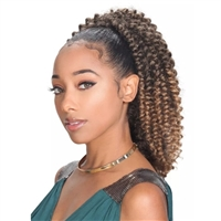 Glamourtress, wigs, weaves, braids, half wigs, full cap, hair, lace front, hair extension, nicki minaj style, Brazilian hair, crochet, hairdo,ZURY SIS Synthetic Drawstring Ponytail MISS V WATER WAVE
