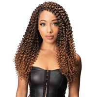Glamourtress, wigs, weaves, braids, half wigs, full cap, hair, lace front, hair extension, nicki minaj style, Brazilian hair, crochet, hairdo, wig tape, remy hair, Lace Front Wigs, Zury Synthetic Twisting Passion Twist Crochet Braid - BOHEMIAN SMALL 18