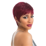 Glamourtress, wigs, weaves, braids, half wigs, full cap, hair, lace front, hair extension, nicki minaj style, Brazilian hair, crochet, hairdo, wig tape, remy hair, Lace Front Wigs, Remy Hair, Sensationnel 100% Human Hair Empire Celebrity Wig Miley