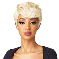 Glamourtress, wigs, weaves, braids, half wigs, full cap, hair, lace front, hair extension, nicki minaj style, Brazilian hair, crochet, hairdo, wig tape, remy hair, Lace Front Wigs, Remy Hair, Sensationnel Synthetic Instant Fashion Wig - DARA