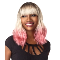 Glamourtress, wigs, weaves, braids, half wigs, full cap, hair, lace front, hair extension, nicki minaj style, Brazilian hair, crochet, hairdo, wig tape, remy hair, Lace Front Wigs, Remy Hair, Sensationnel Synthetic Instant Fashion Wig - KAI