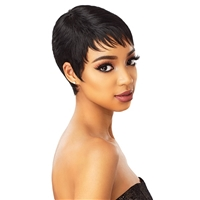 Glamourtress, wigs, weaves, braids, half wigs, full cap, hair, lace front, hair extension, nicki minaj style, Brazilian hair, crochet, hairdo, wig tape, remy hair, Lace Front Wigs, Remy Hair, Sensationnel Synthetic Instant Fashion Wig - RUBY