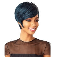 Glamourtress, wigs, weaves, braids, half wigs, full cap, hair, lace front, hair extension, nicki minaj style, Brazilian hair, crochet, hairdo, wig tape, remy hair, Lace Front Wigs, Remy Hair, Sensationnel Synthetic Instant Fashion Wig - TAKA