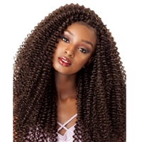 Glamourtress, wigs, weaves, braids, half wigs, full cap, hair, lace front, hair extension, nicki minaj style, Brazilian hair, crochet, hairdo, wig tape, remy hair, Lace Front Wigs, Remy Hair, Sensationnel Lulutress Synthetic Braid - WATER WAVE 18