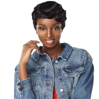 Glamourtress, wigs, weaves, braids, half wigs, full cap, hair, lace front, hair extension, nicki minaj style, Brazilian hair, crochet, hairdo, wig tape, remy hair, Lace Front Wigs, Remy Hair, Sensationnel Synthetic Dashly Full Wig - UNIT 1