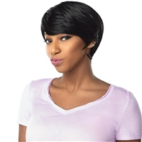 Glamourtress, wigs, weaves, braids, half wigs, full cap, hair, lace front, hair extension, nicki minaj style, Brazilian hair, crochet, hairdo, wig tape, remy hair, Lace Front Wigs, Remy Hair, Sensationnel Synthetic Dashly Full Wig - UNIT2