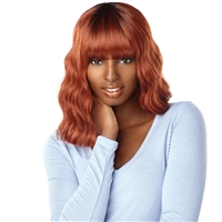 Glamourtress, wigs, weaves, braids, half wigs, full cap, hair, lace front, hair extension, nicki minaj style, Brazilian hair, crochet, hairdo, wig tape, remy hair, Lace Front Wigs, Remy Hair, Sensationnel Synthetic Dashly Full Wig - UNIT3