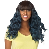 Glamourtress, wigs, weaves, braids, half wigs, full cap, hair, lace front, hair extension, nicki minaj style, Brazilian hair, crochet, hairdo, wig tape, remy hair, Lace Front Wigs, Remy Hair, Sensationnel Synthetic Dashly Full Wig - UNIT4